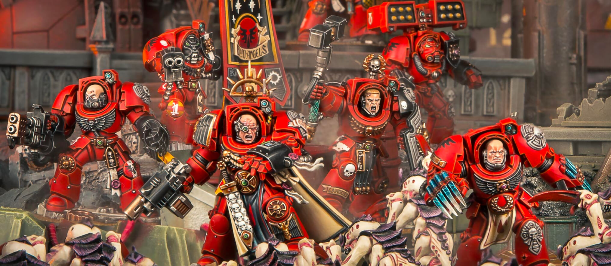 Homepage - Heroes of Space Marines